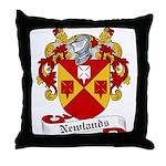 Newlands Family Crest Throw Pillow