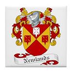 Newlands Family Crest Tile Coaster