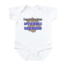 Esquimaux Dogs man's best friend Infant Bodysuit