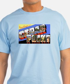 Cedar Point Ohio Greetings T-Shirt