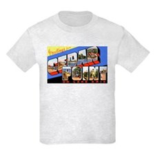 Cedar Point Ohio Greetings T-Shirt