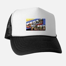 Cedar Point Ohio Greetings Trucker Hat