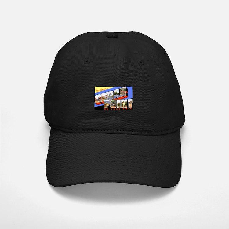 Cedar Point Ohio Greetings Baseball Hat