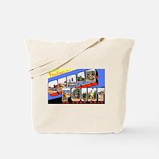 Cedar Point Ohio Greetings Tote Bag