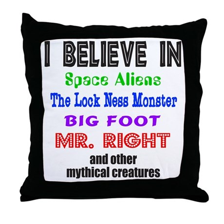 How To Choose The Right Throw Pillows : MR. RIGHT Throw Pillow by exiledtees