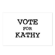Vote for Kathy Postcards (Package of 8)