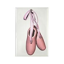 Ballet slippers Rectangle Magnet (100 pack)