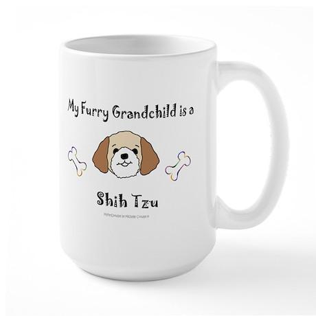shih tzu gifts Large Mug