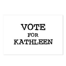 Vote for Kathleen Postcards (Package of 8)