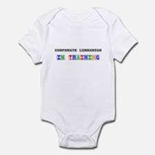 Corporate Librarian In Training Infant Bodysuit