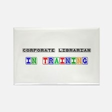 Corporate Librarian In Training Rectangle Magnet