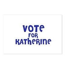 Vote for Katherine Postcards (Package of 8)