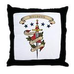Love Welding Throw Pillow