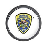 Montana Highway Patrol Wall Clock