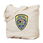Montana Highway Patrol Tote Bag