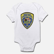Montana Highway Patrol Infant Bodysuit