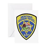 Montana Highway Patrol Greeting Card