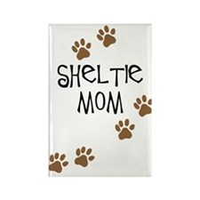 Sheltie Mom Rectangle Magnet