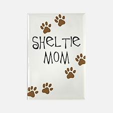 Sheltie Mom Rectangle Magnet