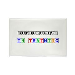 Coprologist In Training Rectangle Magnet (10 pack)