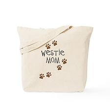 Westie Mom Tote Bag