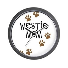 Westie Mom Wall Clock