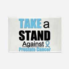 Prostate Cancer Take A Stand Rectangle Magnet