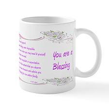 Mother You're a Blessing Sentimental Mug