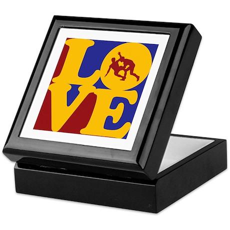Wrestling Love Keepsake Box