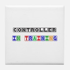 Controller In Training Tile Coaster