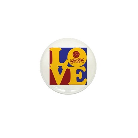 Water Polo Love Mini Button (100 pack)