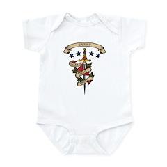 Love Taxes Infant Bodysuit