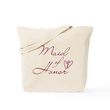 Hearts Maid of Honor Tote Bag