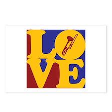 Trombone Love Postcards (Package of 8)