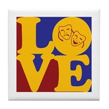 Theater Love Tile Coaster