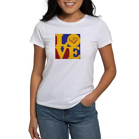 Teaching the Visually Impaired Love Women's T-Shir