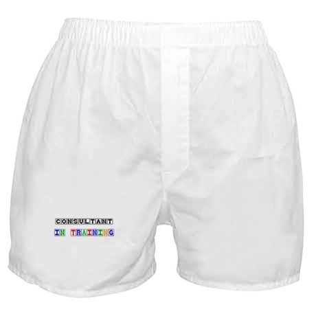 Consultant In Training Boxer Shorts