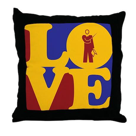 Teaching Love Throw Pillow