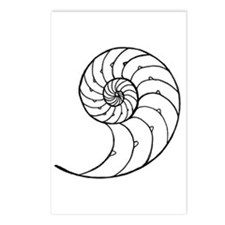 Nautilus Inside Postcards (Package of 8)