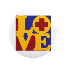 """Surgical Technology Love 3.5"""" Button"""