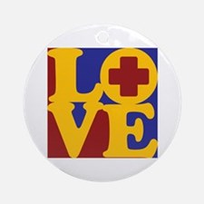 Surgical Technology Love Ornament (Round)