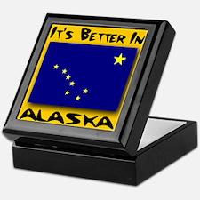 It's Better In Alaska Keepsake Box