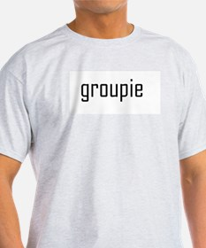 Groupie Ash Grey T-Shirt