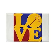 Squash Love Rectangle Magnet