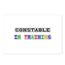 Constable In Training Postcards (Package of 8)