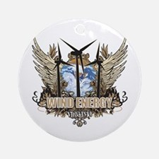 Virginia Wind Energy Ornament (Round)