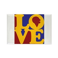 Speech Therapy Love Rectangle Magnet (10 pack)