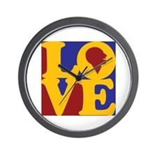 Speech Therapy Love Wall Clock