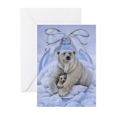 Polar Bears Greeting Cards (Pk of 20)