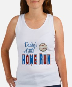 Daddy's Little Home Run Women's Tank Top